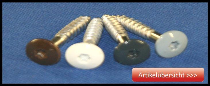 Zubehör für HPL Schichtstoffplatten
