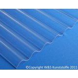 Highlux ® Acrylglas Wellplatten 76/18 glasklar glatt 3mm
