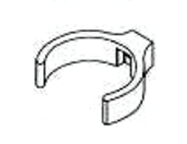 PVC-Rohrschelle