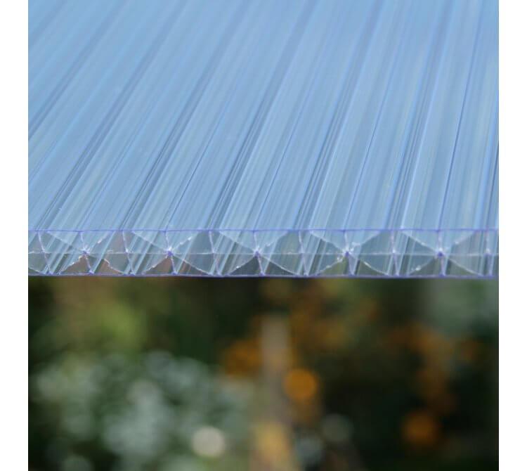 Struktur Doppelstegplatte X-Struktur klar
