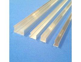 Aluminium Kantenschutz für Stegplatten