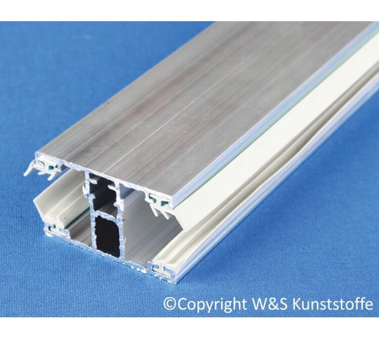 Schraubprofil Mitte für Doppelstegplatten 16mm