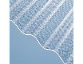 Highlux ® Acrylglas Wellplatten 76/18 Perle klar 2,5mm