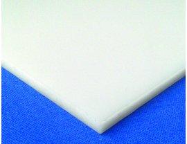 Polycarbonat Massivplatte opal-weiß