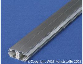 Alu Thermo-Schraubprofil Mitte für 16mm & 32mm Stegplatten