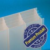 """Plexiglas ® Stegplatten 5-fach 32mm """"Cool Blue / Heatstop"""" (no drop)"""
