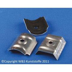 Aluminium Kalotten für Wellplatten