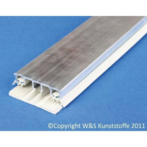 Universalprofil 60mm für Doppelstegplatten und VSG Glas