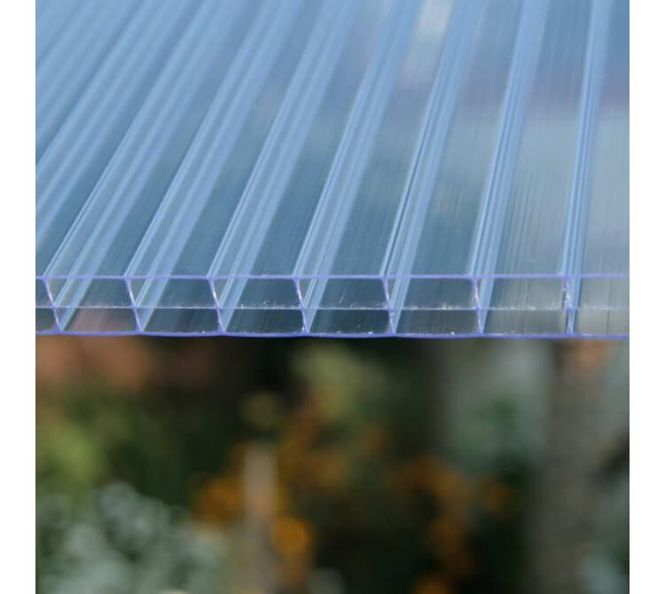 Struktur Doppelstegplatte 3 fach