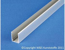 Aluminium U-Profil für Stegplatten