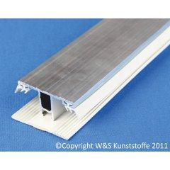 Deckprofil Mitte für Doppelstegplatten 16mm
