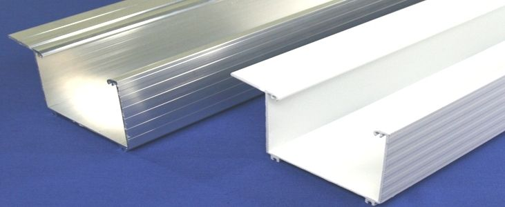 Aluminium Kastenrinne