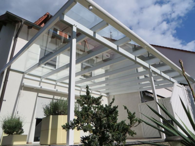 Terrassenüberdachung Alu