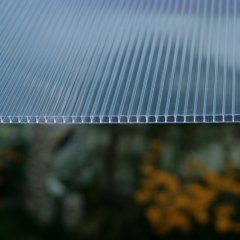 Struktur 6mm Doppelstegplatte