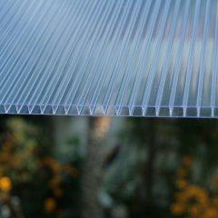 Struktur Doppelstegplatte 10mm klar