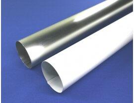 Aluminium Fallrohre Ø80mm