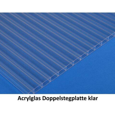 Muster - Polycarbonat / Acrylglas Stegplatten / Doppelstegplatten