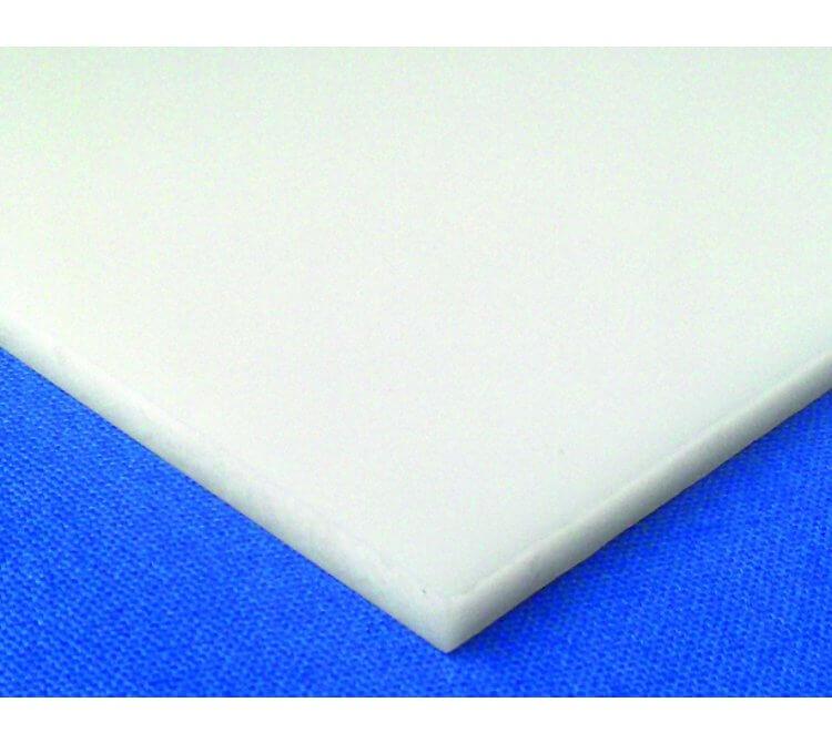 Polycarbonat Massivplatte weiß