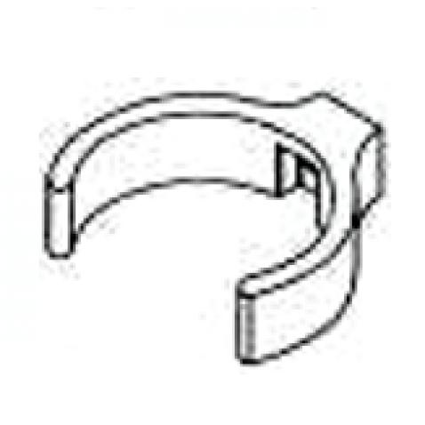 PVC Rohrschelle