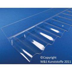 Acrylglas Wandanschluss sinus