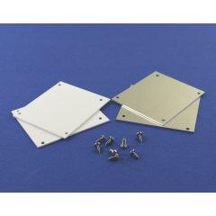 Aluminium Rinnenklappen Set