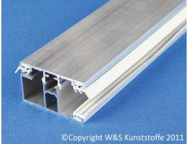 Alu Schraubprofil Rand für 16mm Stegplatten