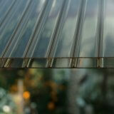 Highlux ® Acrylglas Stegplatten rauchbraun 32/16