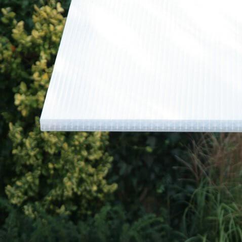 Stegplatte 32mm in natürlichen Lichtverhältnissen