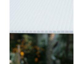 Polycarbonat Doppelstegplatten opal weiß 10mm