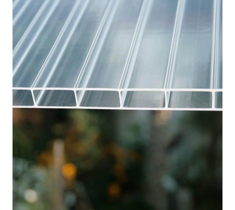 Struktur Doppelstegplatte Ac 32/16 klar