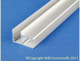 Aluminium Eckprofil für Stegplatten
