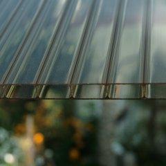 Struktur Doppelstegplatte Ac 32/16 rauchbraun