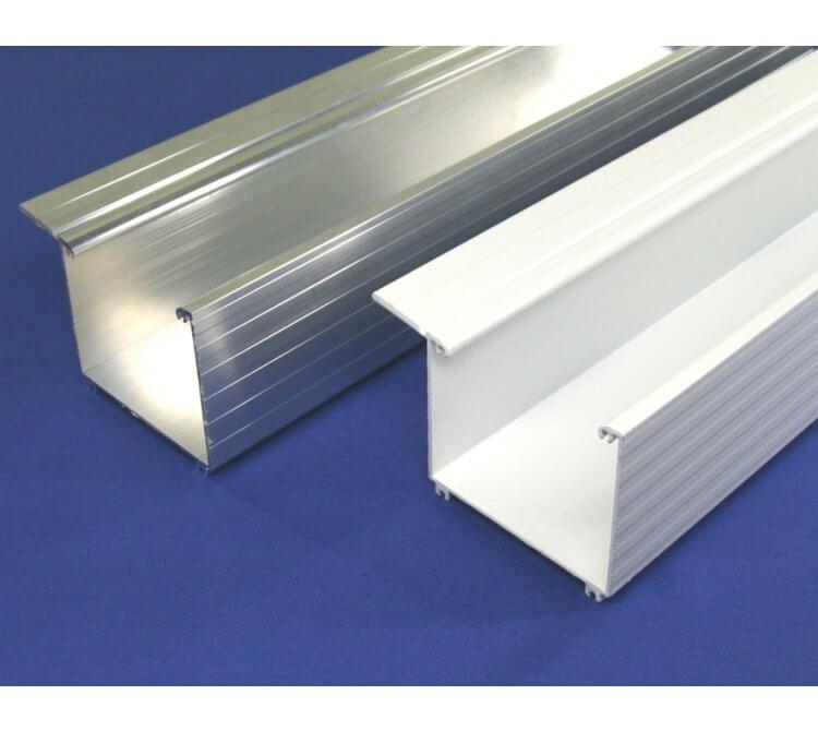 Aluminium Kastendachrinne
