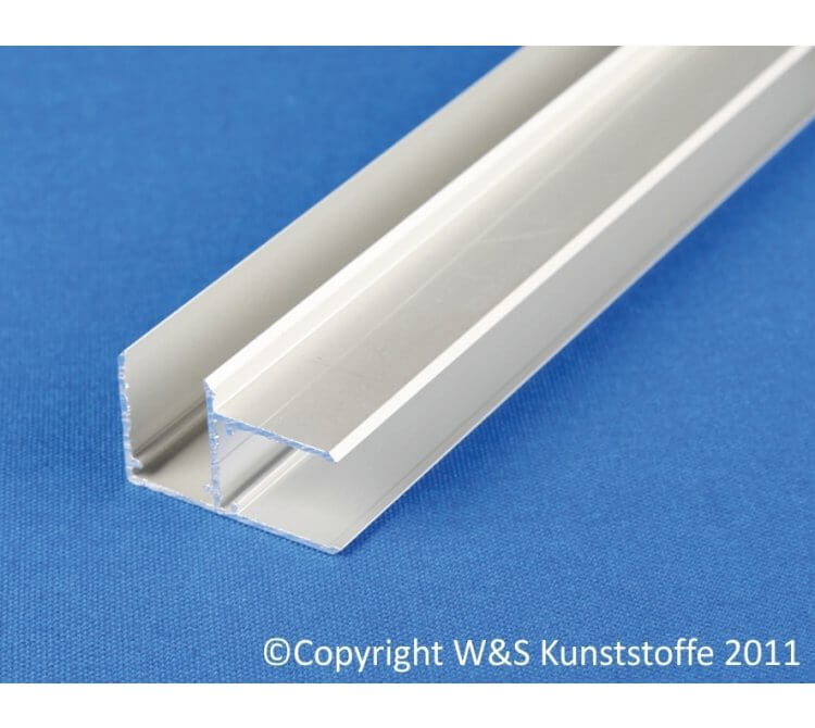 Aluminium Exprofil für 16mm Doppelstegplatten