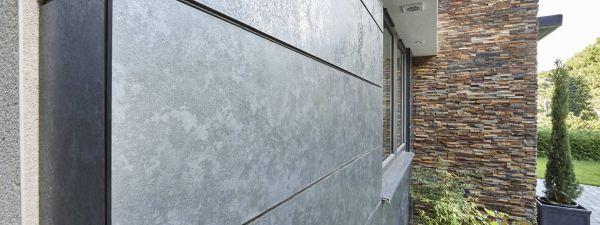 Fassadenverkleidung mit Trespa HPL Platten