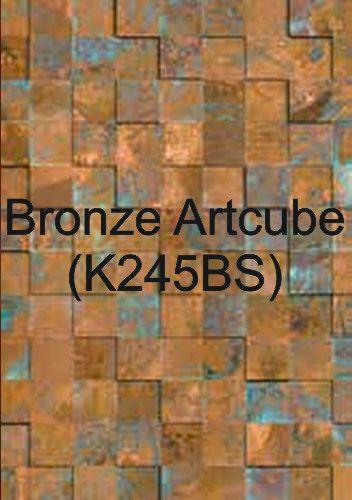 Bronze Artcube (K245BS)