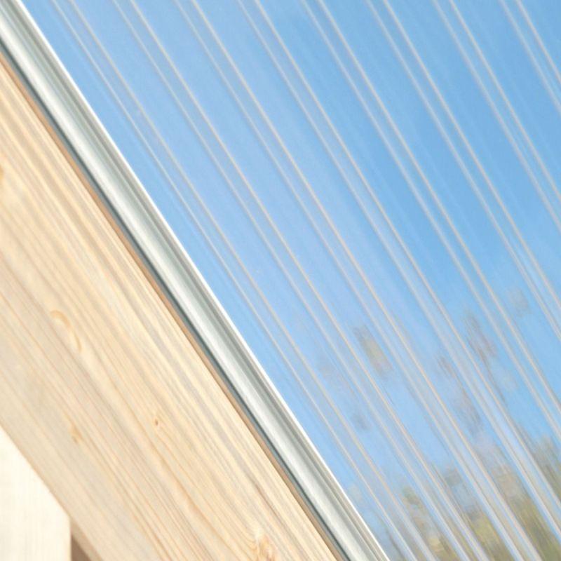 Acrylglas Stegplatte 32/16 klar